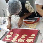 Oficina de culinária - Biscoitinhos de Páscoa